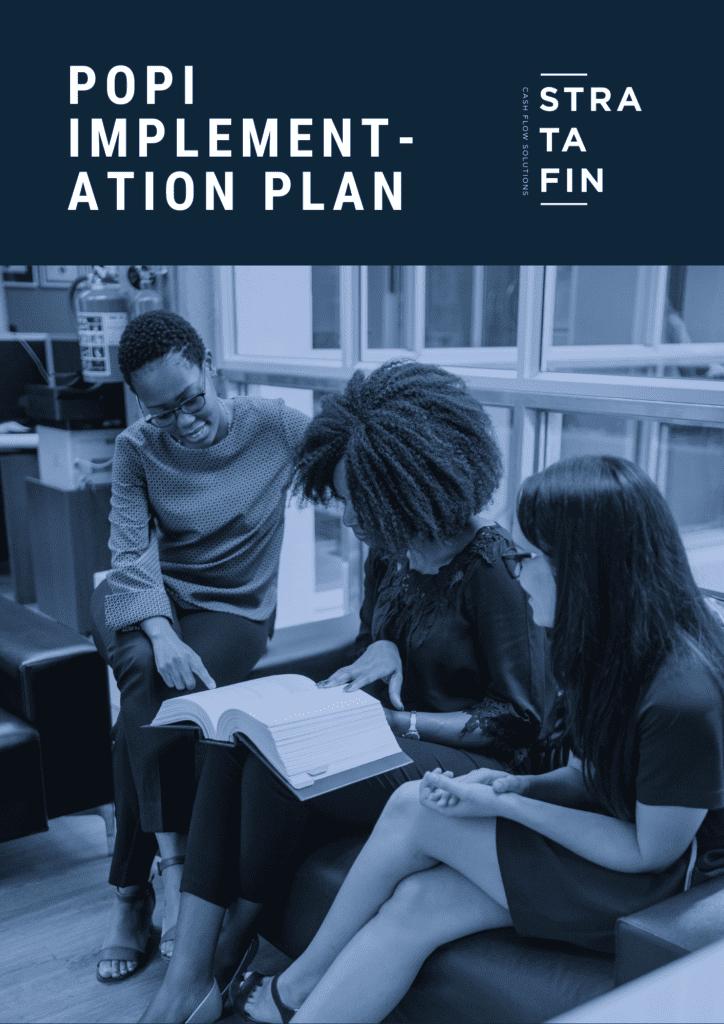 Stratafin POPI implementation Plan